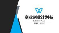 商业计划书路演融资风投商务简约PPT模板.pptx